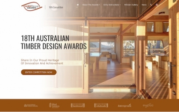 New Website Launch for the Australian Timber Design Awards